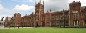 hotels near Queens University Belfast