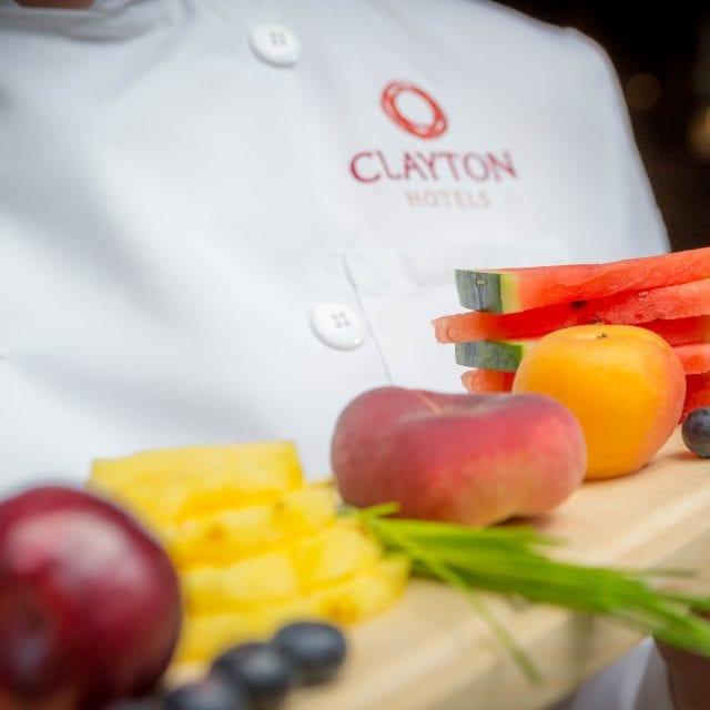 Fresh fruits at the Vitality Breakfast in Clayton Hotel Belfast