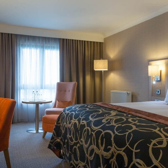 An Executive bedroom at Clayton Hotel Belfast